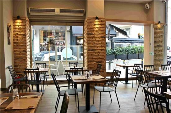 Kατασκευή Εστιατορίου JUST BURGERS, Κολωνάκι