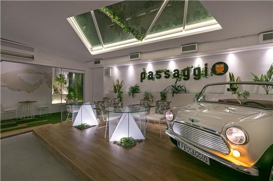 Κατασκευή Καφετέριας PASSAGGIO COFFEE - BAR -RESTAURANT, Περιστέρι