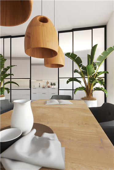 Νέα διαμόρφωση σε ανακαίνιση κατοικίας στην Βάρκιζα.(πρόταση)