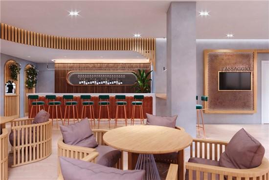 Kατασκευή καφετέριας - wine bar Passaggio Δάφνη